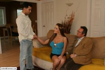 Esposa frente a maridito