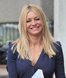 Tess Daly at the London Studios 26th April x9