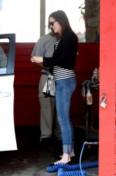 Mandy Moore - At a car wash in Hollywood - May 03, 2012