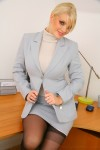 Вера Стивенс, фото 70. Faith Stevens - Grey Suit (OnlyTease), foto 70