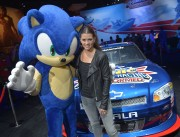 Danica Patrick - promoting Sonic &amp;amp; All-Stars Racing Transformed at E3 in LA 06/05/12
