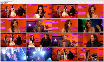 Cheryl Cole and Katy Perry - The Graham Norton Show 8th June 2012 720p