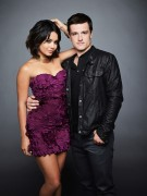 Vanessa Hudgens and Josh Hutcherson - Journey 2 Photoshoot