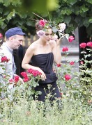 Natalie Portman *ADDS* - set of a photoshoot for Miss Dior in Paris 06/26/12