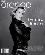 Kathleen Robertson - Brian Lowe Photoshoot for Live, Orange County Magazine - Jan 2012 (x2)