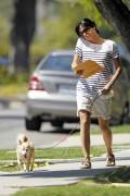 Сельма Блэйр, фото 5. Selma Blair 'Walking her Dog in L.A.' August, photo 5